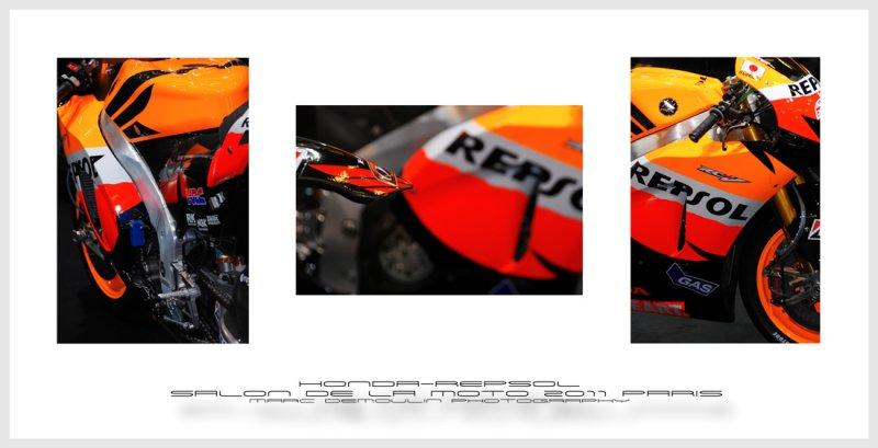 Honda Repsol - Salon de la Moto Paris 2011
