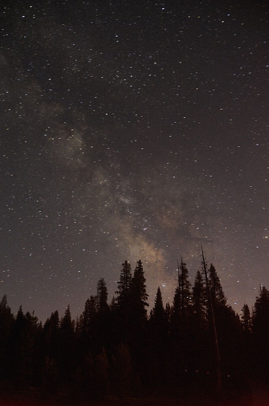 The MilkyWay at White Wolf Cabins, Yosemite NP