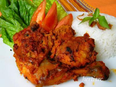 Ayam Panggang Bumbu Rujak