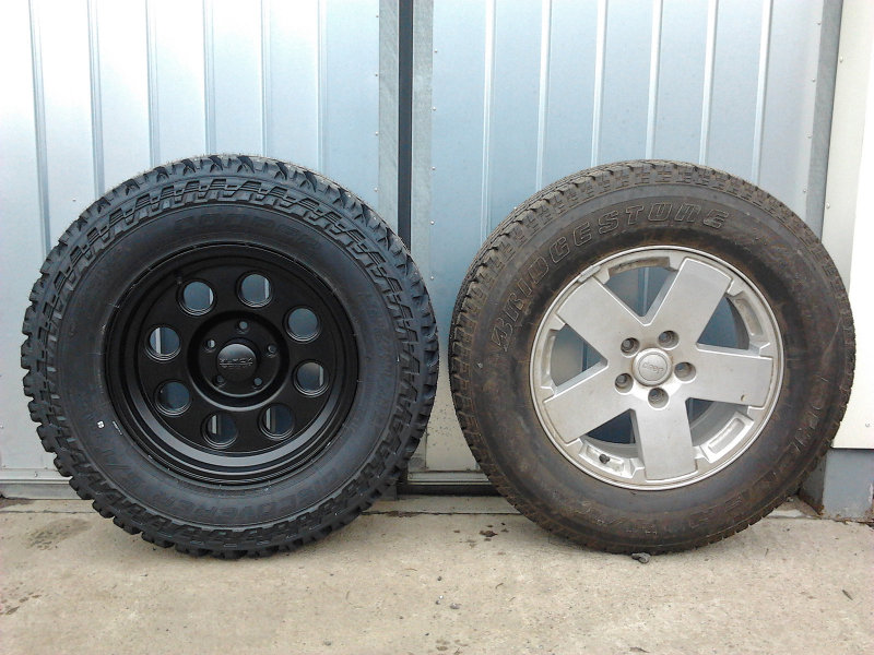 Help With Jku Wheels To Replace Stock 17 Quot Need To Fit