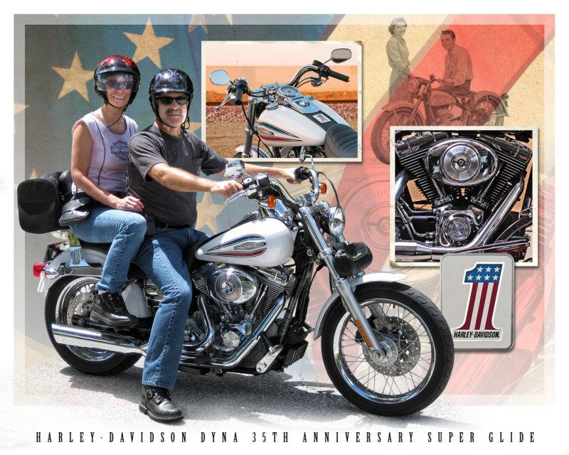 Harley-Davidson Dyna 35th Anniversary Super Glide