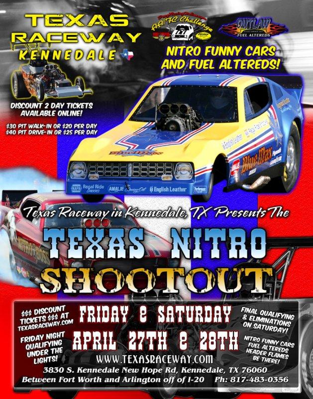 Texas Raceway Nitro Shootout 2012