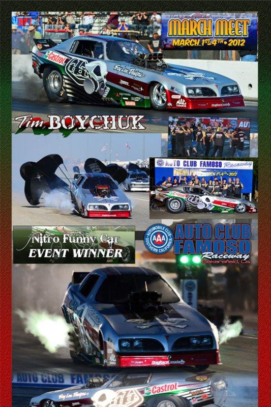 Tim Boychuk March Meet NFC Winner 2012