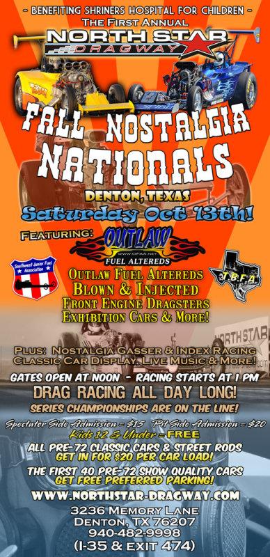 2012 North Star Dragway Fall Nostalgia Nationals