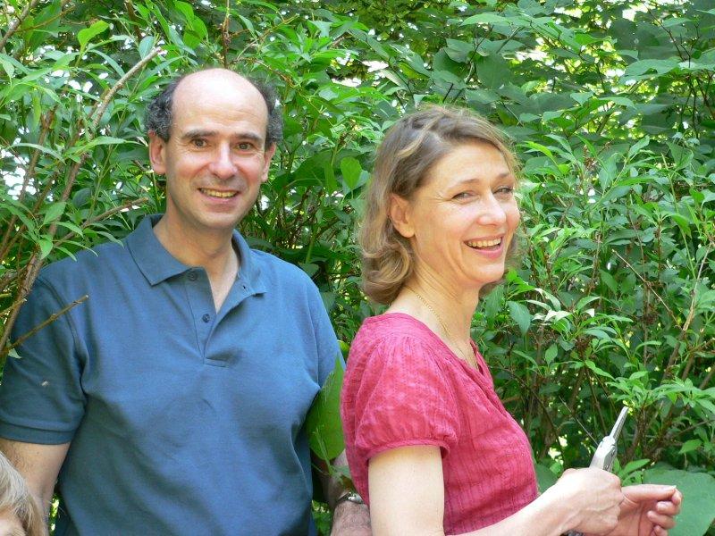 Värdparet Gabriella och Christophe