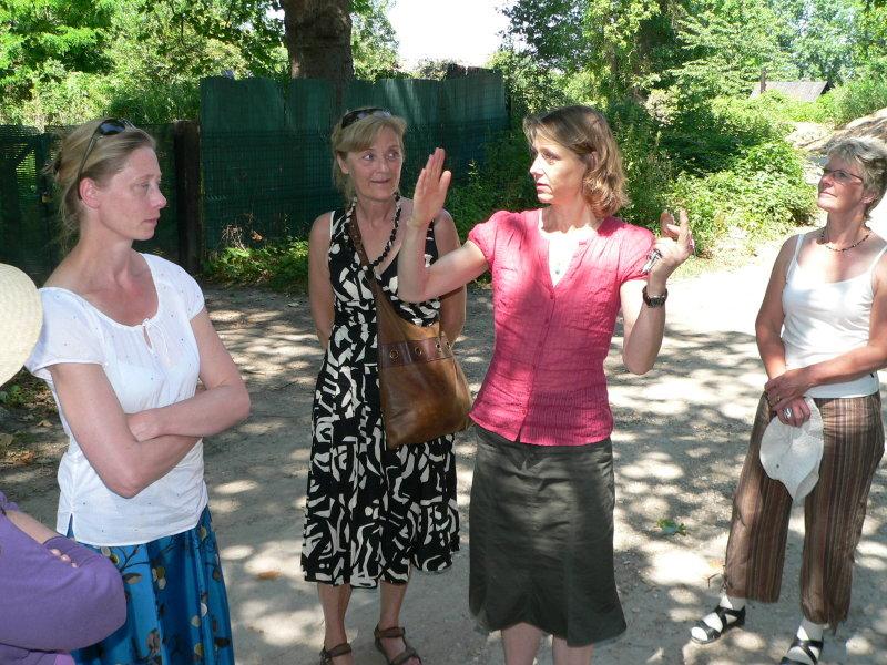 Gabriella berättar om de lokala impressionisterna