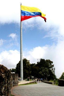Tricolor nacional, Paseo del Hotel Humboldt, El Ávila
