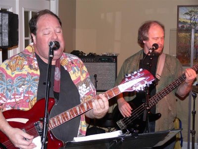 Skip Woolwine and Dale Brown (bass)