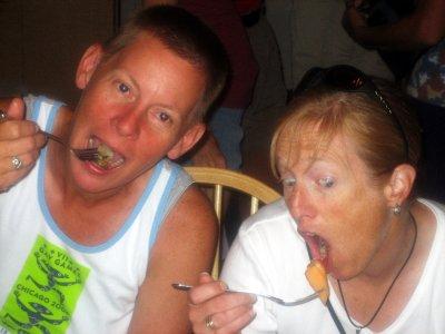 Nikki & Mary eat