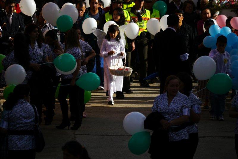 A brief moment with an angel, Biblian, Ecuador, 2011