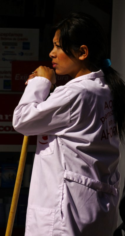 At rest, Cuenca, Ecuador, 2011
