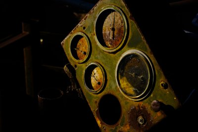 Gauges, Goldfield, Arizona, 2011