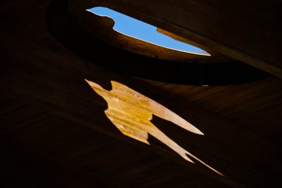Imagination Gives Us Wings, Main Library, Scottsdale, Arizona, 2011