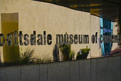 Art Museum, Scottsdale Civic Center, Scottsdale, Arizona, 2011