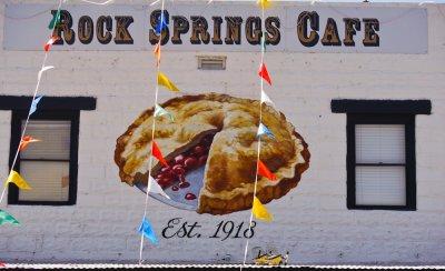 Façade, Rock Springs Café, Rock Springs, Arizona, 2022