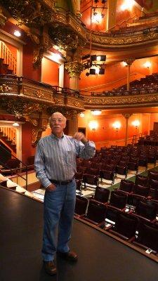 Bob Boland, fund-raiser, The Colonial Theatre, Pittsfield, Massachusetts, 2011