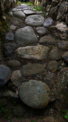 Inca ruin, Cuenca, Ecuador, 2001
