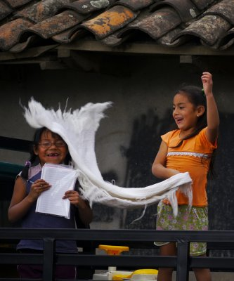 Greetings, Ricaurte, Ecuador, 2011
