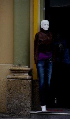 Mannequin, Cuenca, Ecuador, 2011