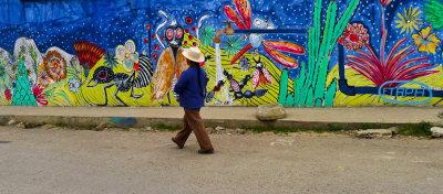 Mural, Sayausi, Ecuador, 2011
