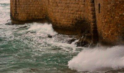 Sea Wall, Acre, Israel, 2011