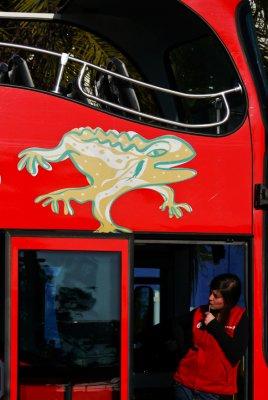 Tour bus, Barcelona, Spain, 2011