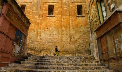 In step, Valletta, Malta, 2011