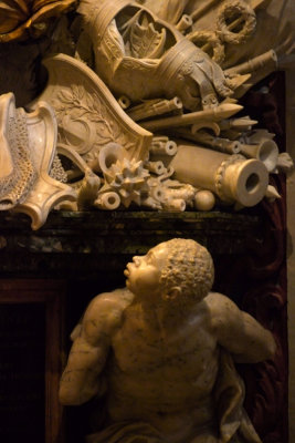 A slave's story, St. John's Cathedral, Valletta, Malta, 2011