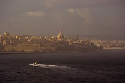 Arrival, Valletta, Malta, 2011