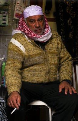 Shopkeeper, Jerusalem, Israel, 2011