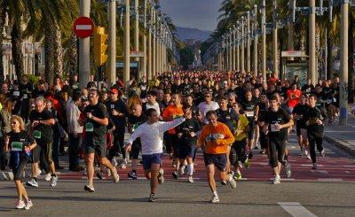 Marathon, Barcelona, Spain, 2011