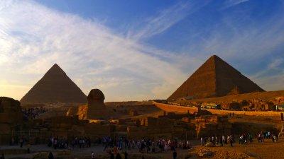 At the Pyramids, Cairo, Egypt, 2011