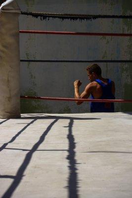 Fighter, Rafael Trejo Boxing Gym, Havana, Cuba, 2012
