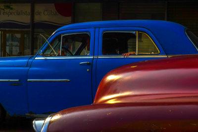 Primary colors, Havana, Cuba, 2012