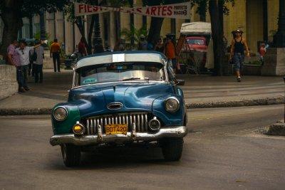 Cobbled together, Havana, Cuba, 2012