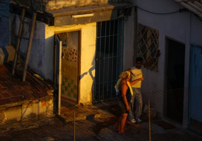 Gesture, Havana, Cuba, 2012