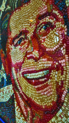 Jellybean Mosaic, Ronald Reagan Presidential Library and Museum, Simi Valley, California, 2012