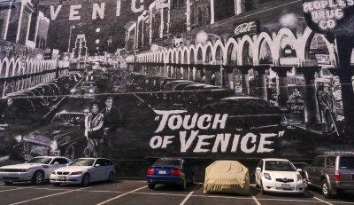 Big wall, big film, Venice Beach, California, 2012