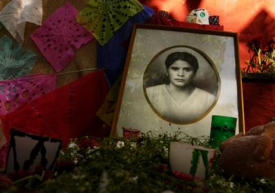 Honoring the Dead, San Miguel de Allende, Mexico, 2005