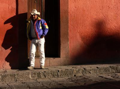 The Dawn Casts Long Shadows, San Miguel de Allende, Mexico, 2005