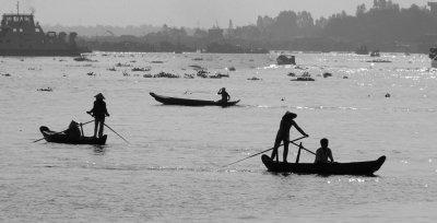 Meeting on the Mekong, Chau Doc, Vietnam, 2008