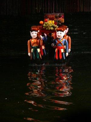 Water puppets, Hanoi, Vietnam, 2007