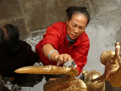 Preparations, Ambassador Pagoda, Hanoi, Vietnam, 2007