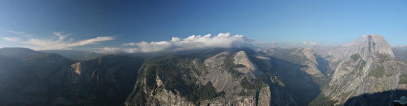 At Glacier Point (Yosemite)