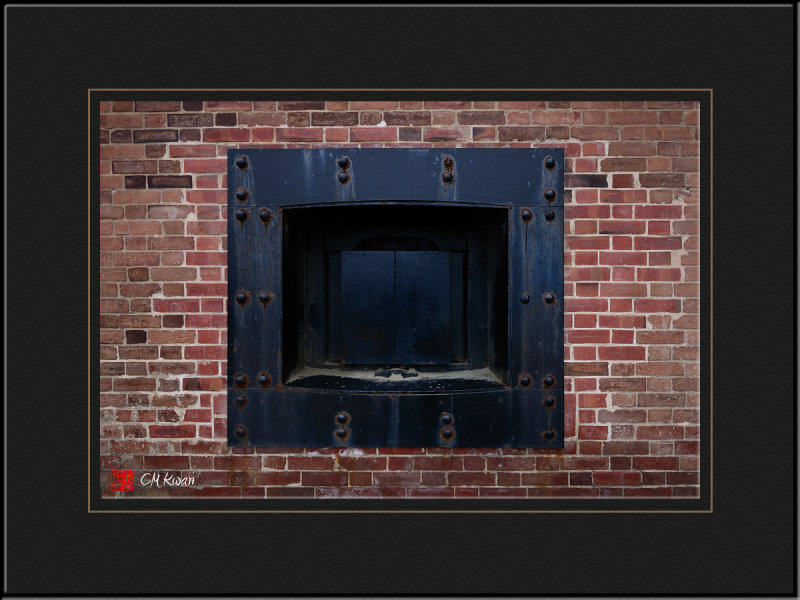 Window of Fort Point