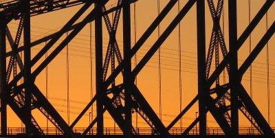 Pont de Québec, structure