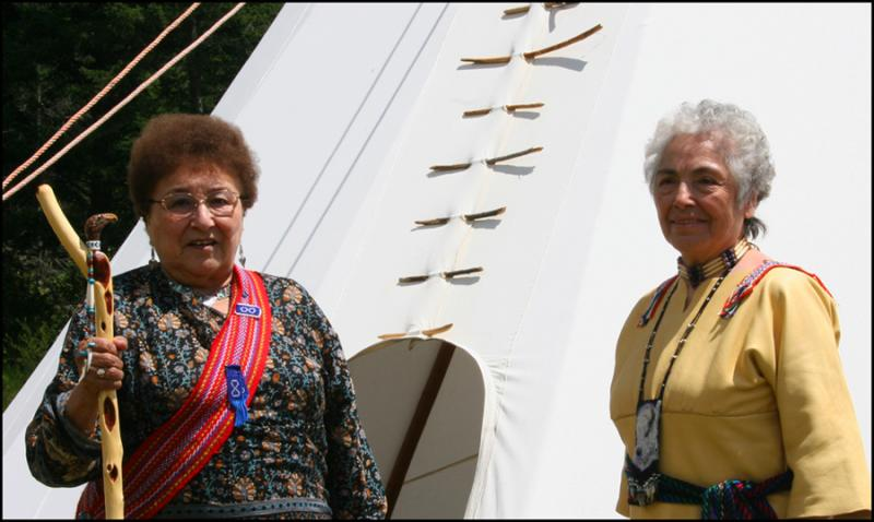 Elders Mabel Kelly & Margaret Sloan