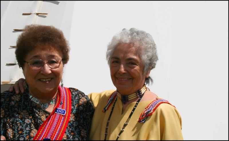 Elders Mabel Kelly & Margaret Sloan