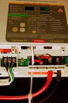 Wire The Temp Sensor & AC Wiring
