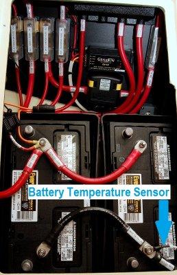Battery Temperature Sensor Location